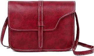Leather Shoulder Bag Fashion Brown Crossbody Bag For Lady Girls Korean Style HandBag