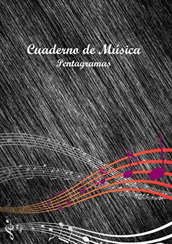 Cuaderno de Musica: Pentagramas, Libreta de musica, 120 paginas, 8 pentagramas por...