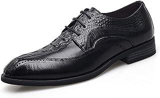 Dingziyue Uomo Business Casual Scarpe Basso Per Aiutare Pelle Singola Scarpe Scarpe Uomo (Colore: Marrone, Taglia : 42)
