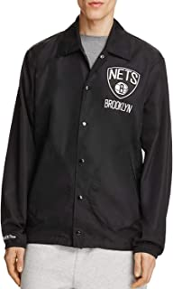 Mitchell & Ness Men's NBA Hardwood Classics Coaches Jacket