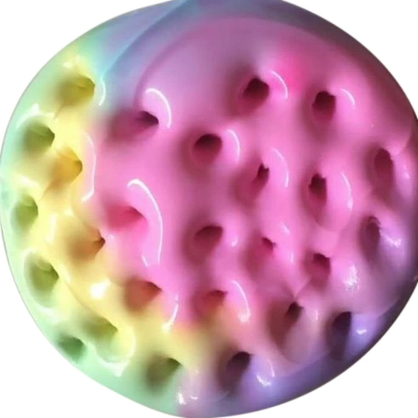 Clearance Sale!DEESEE(TM)????100ml Beautiful Mixing Fluffy Floam Slime Scented Stress Relief Kids Sludge Toy
