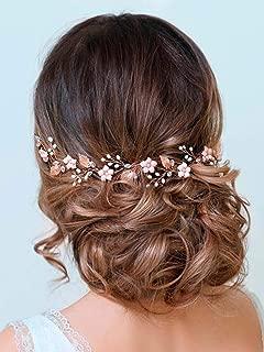 Best pink flower hair piece Reviews