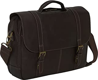 Columbian Leather Flapover Case, Brown