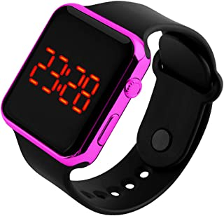 Boys Watch Sport Digital LED Screen Outdoor Plating Watch Boy Girl Gift Dress Watch