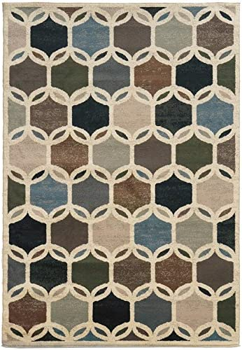 Oriental Limited Special Price Weavers 90W Brentwood Area by 5-Feet SEAL limited product 7-Feet 3-Inch Rug