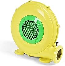Costzon Air Blower, Pump Fan Commercial Inflatable Bouncer Blower, Perfect for Inflatable Bounce House, Jumper, Bouncy Castle (480 Watt 0.64HP) Yellow