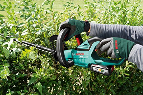 Bosch Home and Garden 0600849F70 18 V Cutter That cuts Branches on First Sweep Through The Hedge, Green