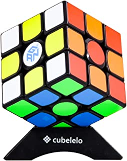 Cubelelo Gans 356 Air Master 2019 Edition 3x3 Black Speed Cube Magic Cube Puzzle Toy