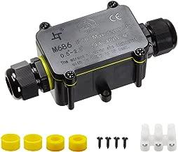 IP65 ABS Wasserdicht Anschlusskasten Abzweigdose Verteilerdose 3 Typs Neu