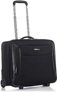 Roncato Business Trolley Pc 17' Soft Shell Biz 2.0 - Hand Luggage cm. 47.5x45x25 Capacity 35 L, Lightweight, Internal Orga...