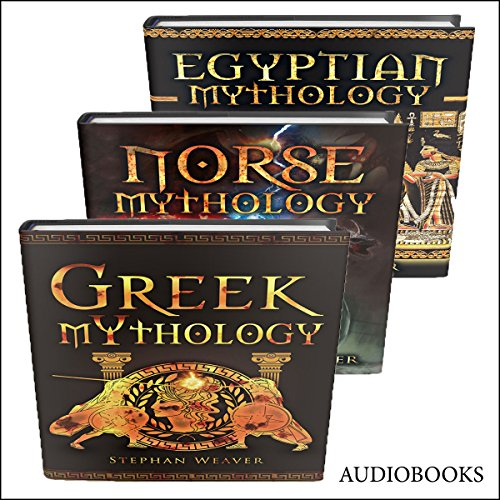 Mythology Trilogy audiobook cover art