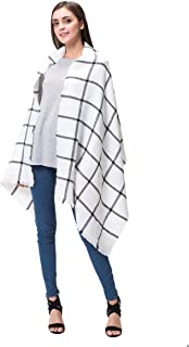 Best white grid scarf Reviews
