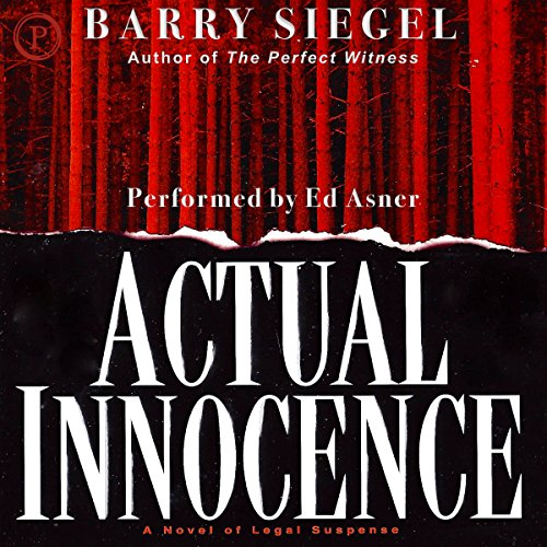 Actual Innocence audiobook cover art