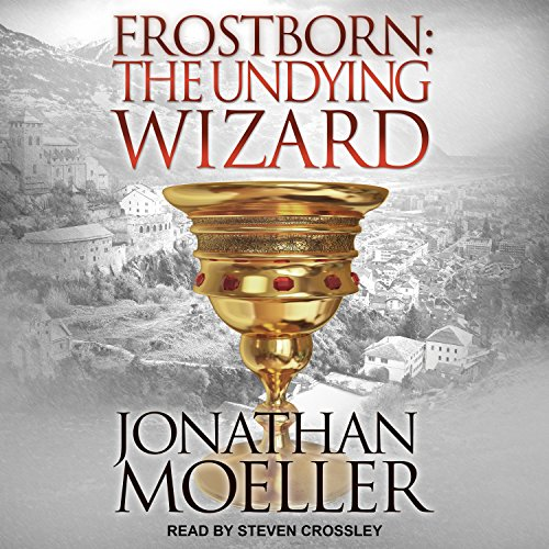 Frostborn: The Undying Wizard audiobook cover art