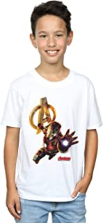 Marvel Jungen Iron Man Pose T-Shirt
