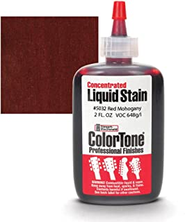 ColorTone Liquid Stain for Stringed Instruments, Red Mahogany