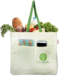 Nostaljia Vegetable Cotton Canvas Bag 8 Pocket