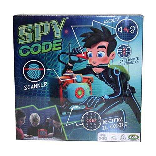 Rocco Giocattoli Spy Code Giochi da Tavolo, Multicolore, 8027679061271