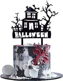 Sponsored Ad - SHAMI Glitter Black Bat Cake Topper for BOY Cake Decoration Birthday Party Supplies Black Hallowee… (Black 2)