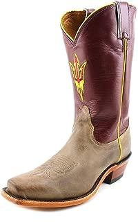 Nocona Womens LDASU22 Arizona State University Collegiate Embroidered Boots-Tan