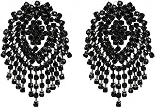 Best black beads earrings in gold Reviews