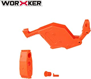 WORKER Magazine Cover Style Kits for nerf stryfe Orange Color