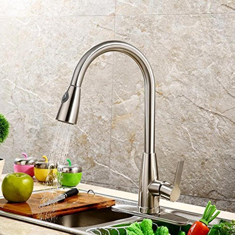 CZOOR Einzigen Griff Küche Wasserhahn Mixer Herausziehen Küche tippen Sie auf einzelne Bohrung Wasser Kaltes und Warmes Wasser Mixer Torneira Xt-57