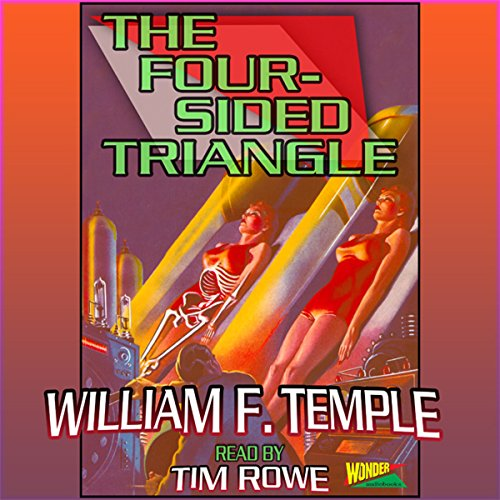The Four-Sided Triangle  audiobook cover art