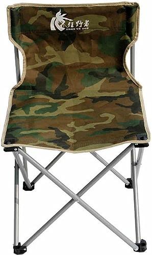 AJZXHESimple et créatif Camouflage chaises Pliantes, chaises de Camping en Plein air, chaises de Plage, chaises de pêche, chaises de Loisirs,