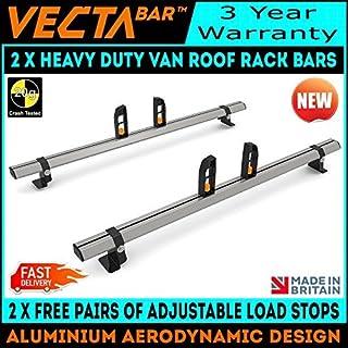 UKB4C Roof Rack Cross Bars fit Fiat Doblo II 2010-2016 5 door