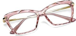 Cat Eye Glasses Frame Clear Lenses Eyewear Women B2440