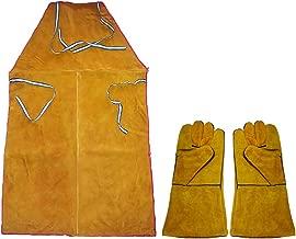 iwobi Guantes de Soldadura Resistentes a Altas temperaturas Jardiner/ía Ideales para barbacoas y Otras Actividades al Aire Libre Guantes Industriales para El Trabajo De Jardiner/ía Granja