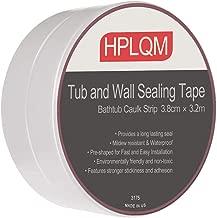 Caulk Strip, PVC Sealing Tape, Self Adhesive Caulking Roll, Waterproof Wall Sealant, 1-1/2