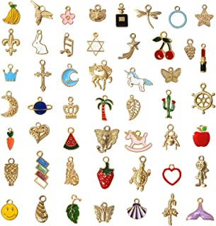 small gold plated charms