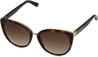 Jimmy Choo Cat Eye Sunglasses for Women - Brown Lens