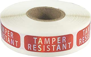 """Tamper-Resistant Holographic Labels, 0.5"""" x 1.5"""" Adhesive Stickers, 500-Pack"""