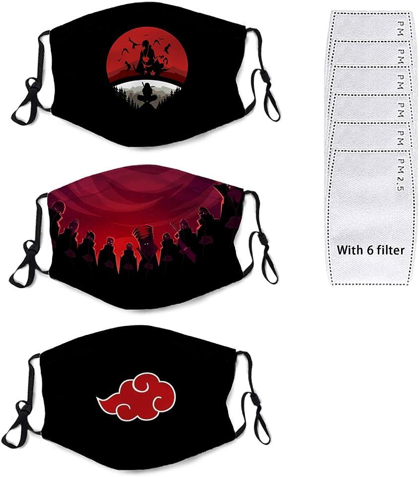 Demon Slayer Face Mask Anime Washable Reusable Adjustable Breathable Mask for Adults Women Men