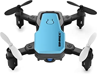 SIMREX X300C 8816 Mini Drone RC Quadcopter Foldable Altitude Hold Headless RTF 360 Degree FPV...