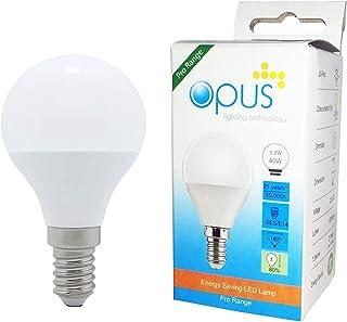 Opus Lighting Technology LED Light Bulb, 40 W, Warm White