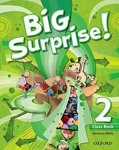 Big Surprise! 2. Class Book + Multi-Rom - 9780194516211