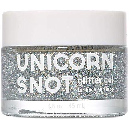 Unicorn Snot Holographic Body Glitter Gel - Vegan & Cruelty Free, Gifts for Girls, Boys, Men, Women | Silver (1.7oz)