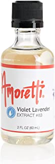 Amoretti Violet Lavender Extract, 2 Ounce