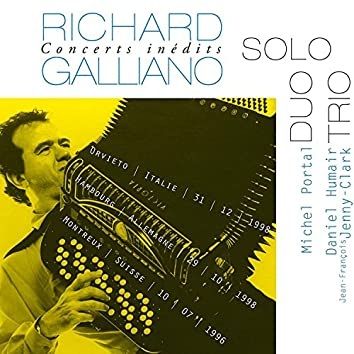 Concerts Inédits: Solo - Duo - Trio (Live)