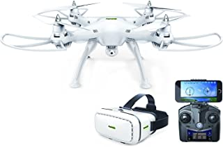 Promark Virtual Reality Drone - P70-VR - 720p HD Camera - WiFi Streaming Quadcopter - Easy-to-Fly HD Camera Drone - Stream, Record, Photograph Live