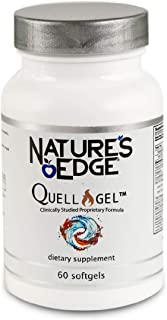 Nature's Edge® Clinically Tested Quell-Gel™ Whole Body Anti-Inflammation Support for Daily Use [60 Softgels] | Proprietary...
