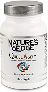 Nature's Edge® Clinically Tested Quell-Gel™ Whole Body Anti-Inflammation Support for Daily Use [60 Softgels] | Proprietary Formula | Omega-3,Vitamin D3, Curcuminoids,Tocotrienols,Organic Hemp & More