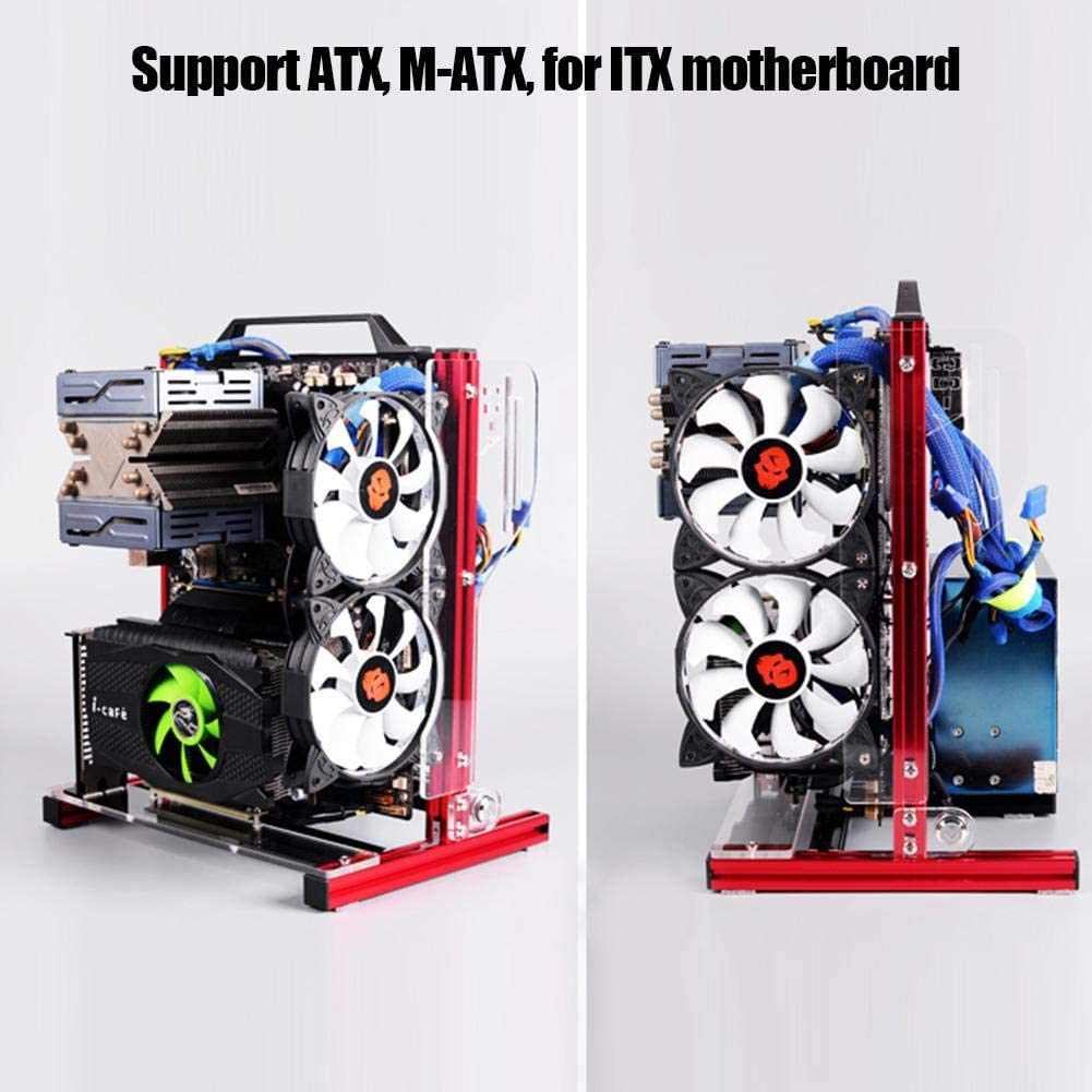 ATX/M-ATX/ITX DIY Chassis Bracket Open Chassis,Vertical ...