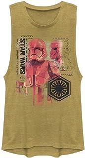 Star Wars Junior's Festival Muscle Tank, Gold Heather, Medium