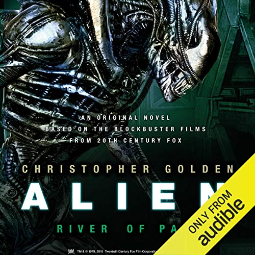 Alien: River of Pain audiobook cover art