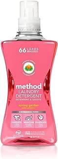 Method Laundry Detergent, Spring Garden, 53.5 Ounces, 66 Loads